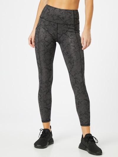 Marika Sporthose 'SIA' in schlammfarben / schwarz, Modelansicht