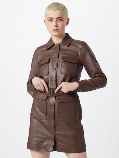 2NDDAY Šaty 'Sway' - tmavě hnědá, Model/ka