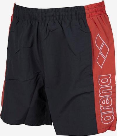 ARENA Athletic Swim Trunks in Red / Black / White, Item view