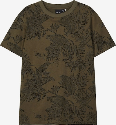 NAME IT T-Shirt in grün / schwarz, Produktansicht