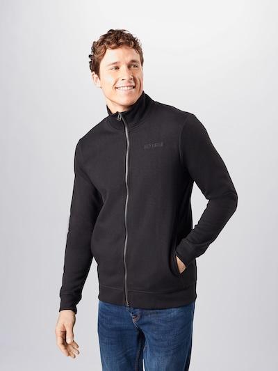 Only & Sons Sweatvest in de kleur Zwart, Modelweergave
