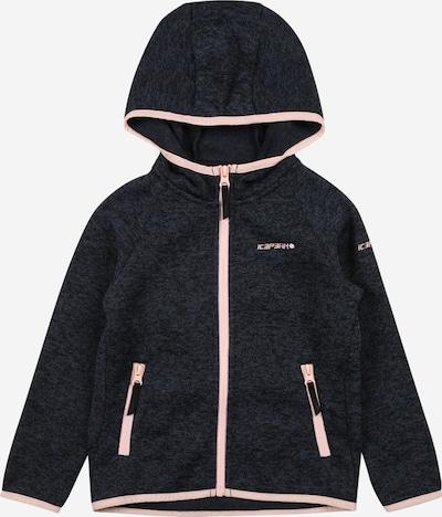 Jachetă  fleece funcțională 'LAMESA' ICEPEAK pe albastru marin / roz, Vizualizare produs