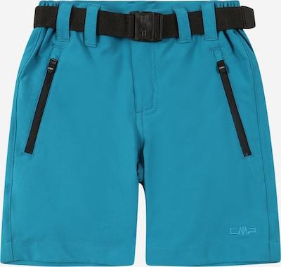 CMP Pantalon d'extérieur en turquoise, Vue avec produit