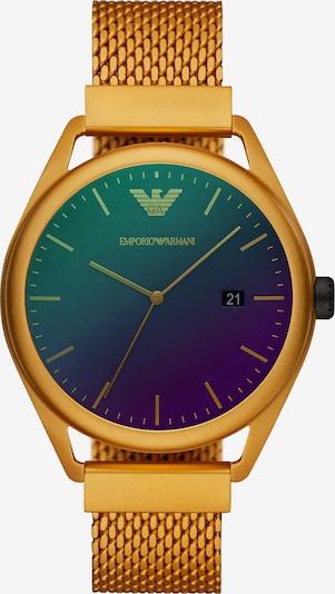 Emporio Armani Uhr in blau / gelb / lila, Produktansicht