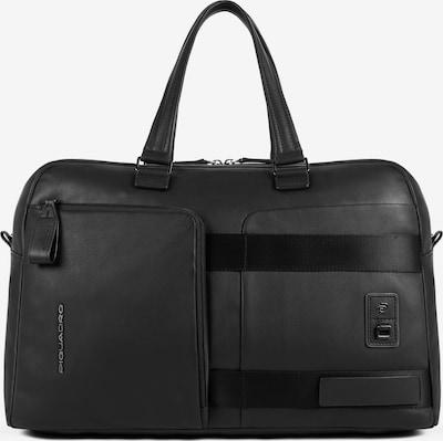Piquadro Weekender in schwarz, Produktansicht