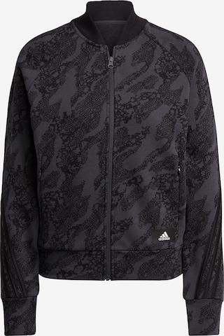 ADIDAS PERFORMANCE Athletic Jacket in Grey