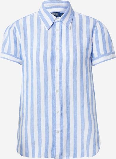 POLO RALPH LAUREN Damen Shirt in blau / weiß, Produktansicht