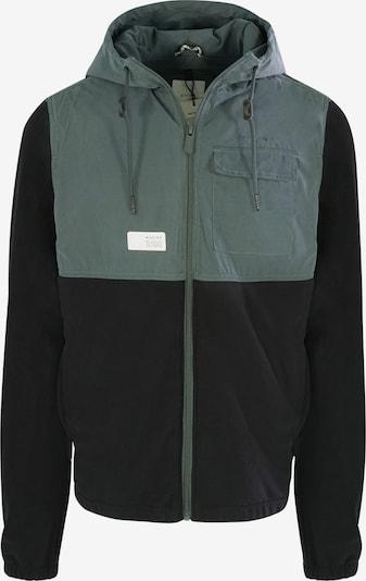 mazine Tussenjas ' Dunoon ' in de kleur Groen / Zwart, Productweergave