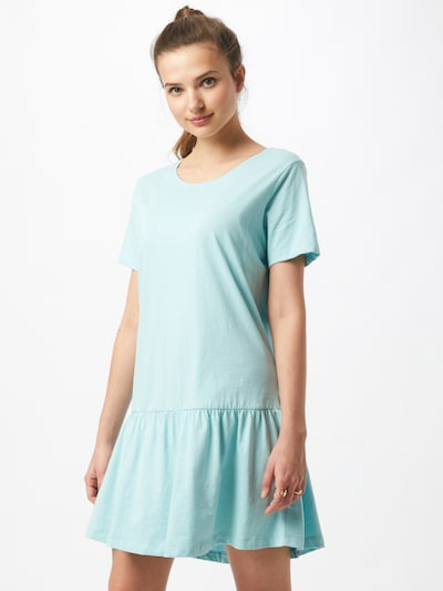 Urban Classics Curvy Kleid 'Valance' in hellblau, Modelansicht