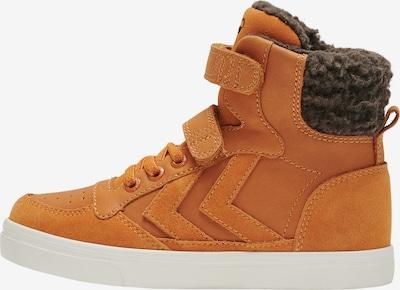 Hummel Sneaker in cognac / dunkelbraun / weiß, Produktansicht
