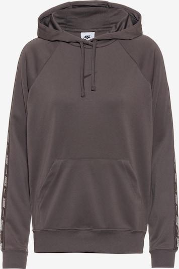Nike Sportswear Hoodie in taupe / weiß, Produktansicht