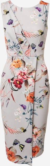 Closet London Vestido de tubo en arena / mezcla de colores, Vista del producto
