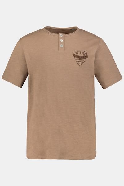 JP1880 T-Shirt in braun, Produktansicht