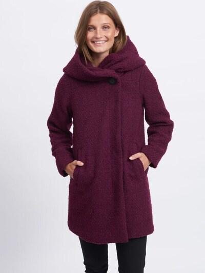 VILA Mantel in dunkelrot, Modelansicht