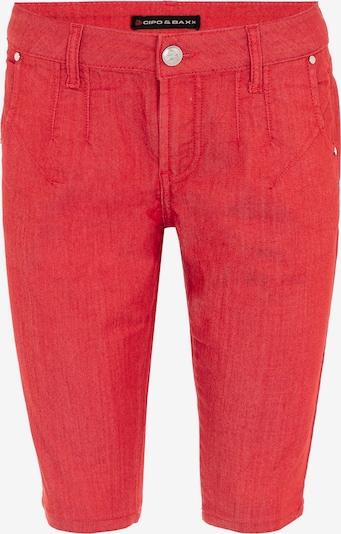 CIPO & BAXX Broek in de kleur Rood, Productweergave