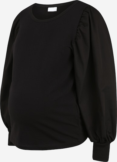 Pieces Maternity Sweater 'Merve' in Black, Item view