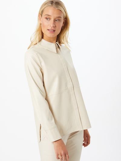 Gina Tricot Chemisier 'Alina' en beige, Vue avec modèle