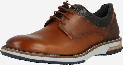 konyak / fekete LLOYD Fűzős cipő 'GABRIO', Termék nézet