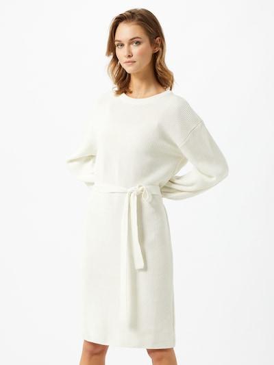 Rochie tricotat NU-IN pe alb, Vizualizare model