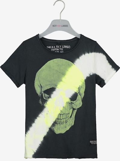 Key Largo Shirt 'BT BINGO' in schwarz, Produktansicht