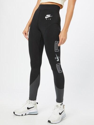 Nike Sportswear Клин в черно / бяло, Преглед на модела