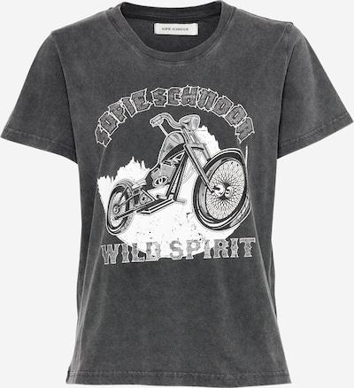 Sofie Schnoor T-shirt en noir / blanc, Vue avec produit