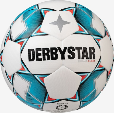 DERBYSTAR Ball in blau / weiß, Produktansicht