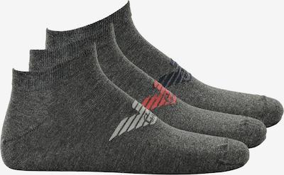 Emporio Armani Socken in graumeliert, Produktansicht