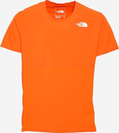 THE NORTH FACE Sportshirt in orangerot / weiß, Produktansicht