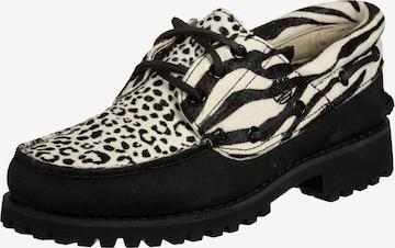 Chaussure à lacets 'Authentics 3 Eye' TIMBERLAND en noir