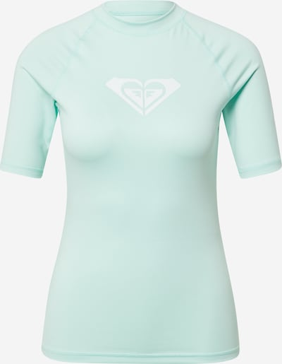 ROXY Camiseta funcional 'WHOLEHEARTED' en menta / blanco, Vista del producto