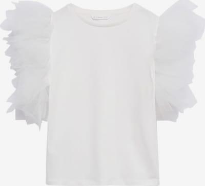 MANGO KIDS T-Shirt 'Caitlyn-A' in weiß, Produktansicht
