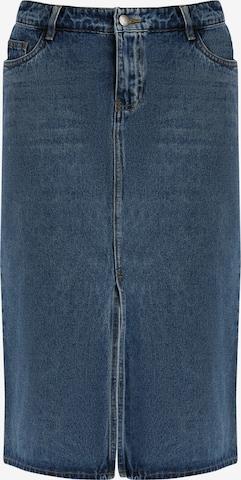 Finn Flare Skirt in Blue