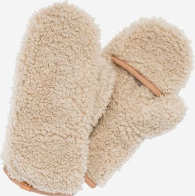 CAMEL ACTIVE Fäustlinge aus Teddyfell in beige, Produktansicht