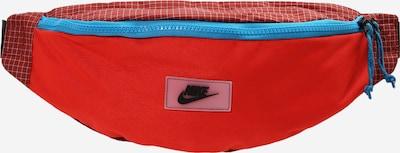 Nike Sportswear Sacs banane en bleu / rouge / blanc, Vue avec produit