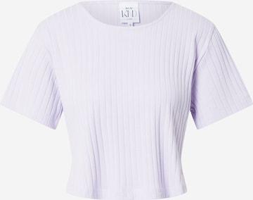 WEARKND T-Shirt 'Elisa' in Lila