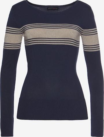 MELROSE Pullover in Blau