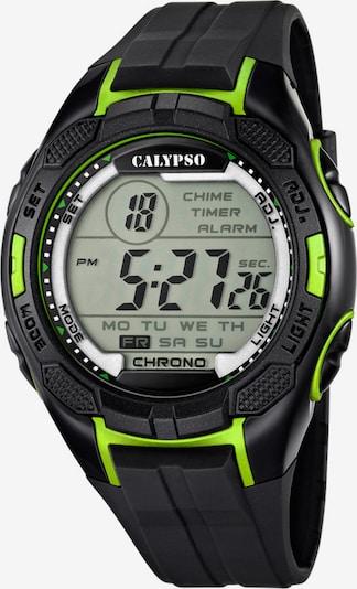 CALYPSO WATCHES Digitaluhr in grün / schwarz, Produktansicht