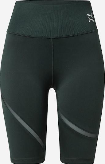 PUMA Sporthose en dunkelgrün, Vue avec produit