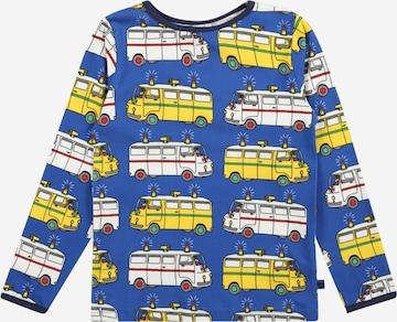 T-Shirt Småfolk en bleu