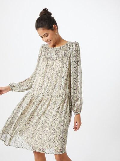 ICHI Kleid 'Lia' in mischfarben / weiß, Modelansicht