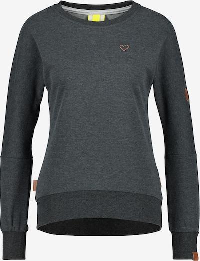 Alife and Kickin Sweatshirt in dunkelblau / braun, Produktansicht