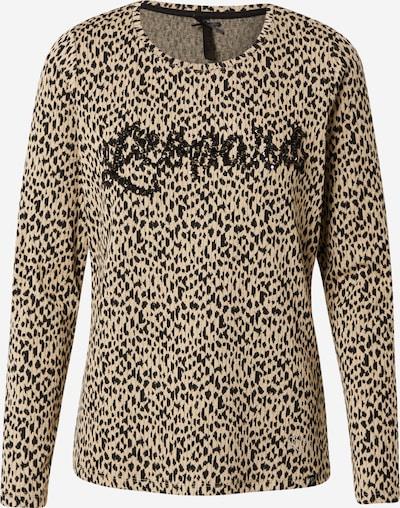 Key Largo Shirt in ecru / schwarz, Produktansicht