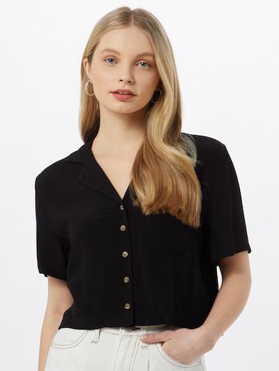 Cotton On Bluse in schwarz, Modelansicht