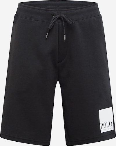 Kelnės iš POLO RALPH LAUREN , spalva - juoda / balta, Prekių apžvalga