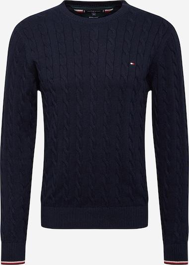 TOMMY HILFIGER Pullover i mørkeblå, Produktvisning