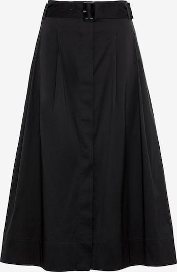 HALLHUBER Midirock in schwarz, Produktansicht