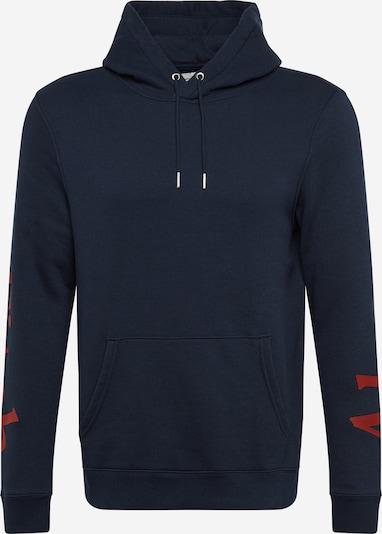 Megztinis be užsegimo iš Abercrombie & Fitch , spalva - tamsiai mėlyna / raudona: Vaizdas iš priekio