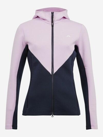 J.Lindeberg Jacke in dunkelblau / rosa, Produktansicht