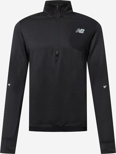 Tricou funcțional new balance pe negru, Vizualizare produs